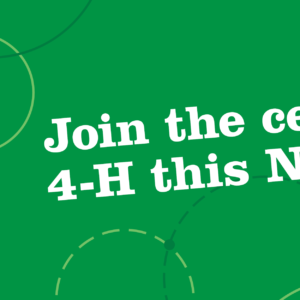 Time to Show Your 4-H Colours – National Celebration Across Canada!