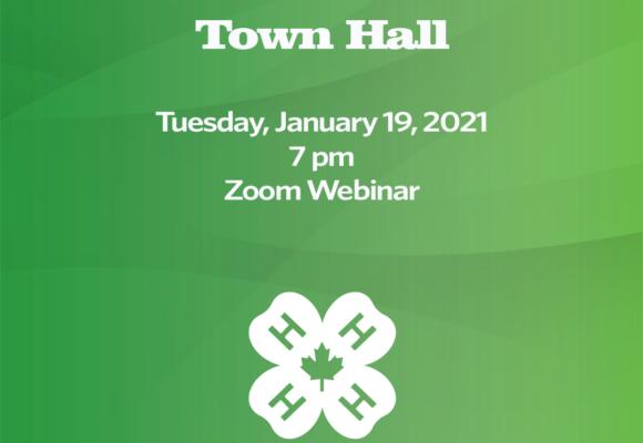 4-H Alberta Virtual Town Hall