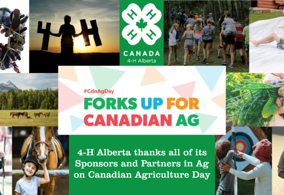 Happy Canadian Ag Day 4-H Community!
