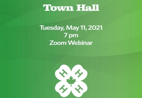4-H Alberta Virtual Town Hall – May 11, 2021