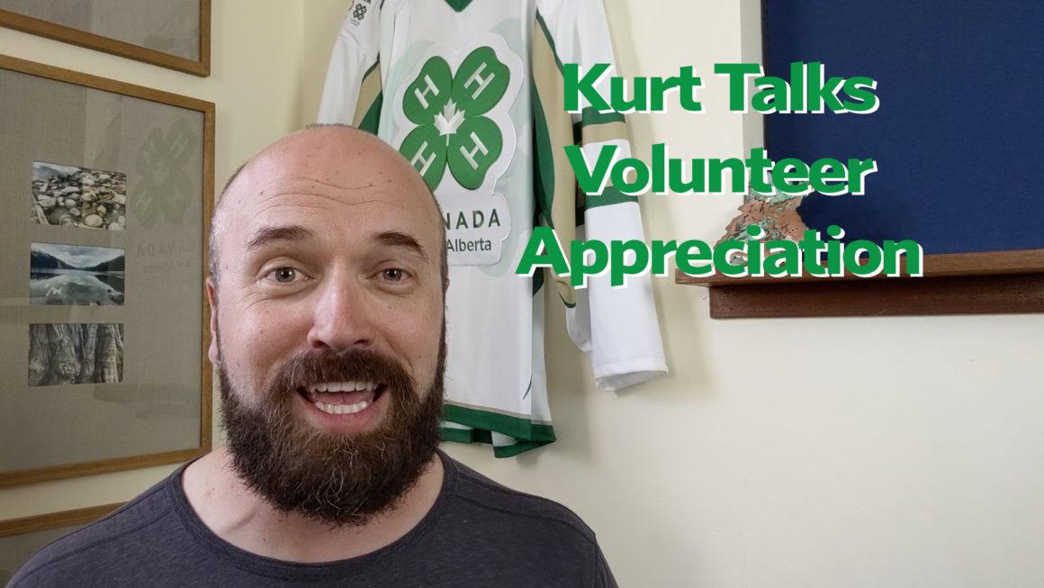 Kurt Talks Volunteer Appreciation