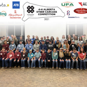 4-H Alberta 2021-22 Steer Carcass Competition